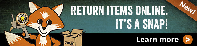 Return Items Online. It's a Snap.