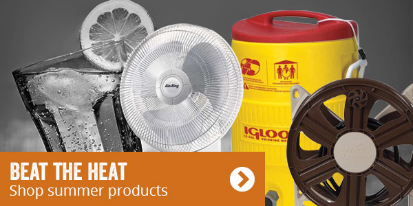 Beat The Heat. Shop Summer Products.