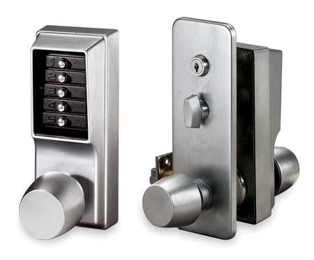 Mechanical Push Button Combination Locks By Kaba Keyless