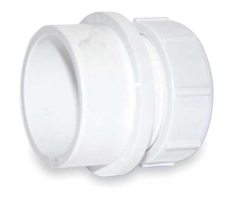 Pvc adapters by mueller industries pvc and cpvc pipe fittings at