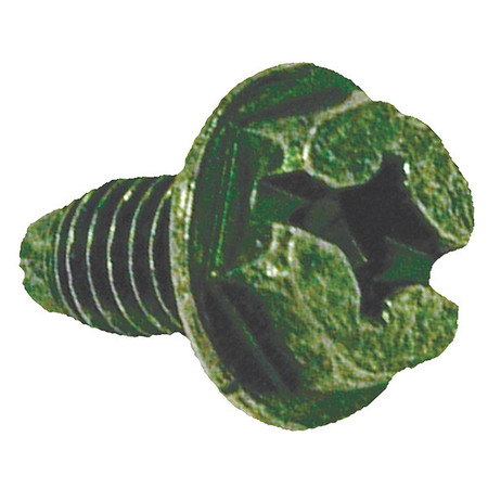 Ground Screw Slotted Thread 10 32 PK100 by USA Raco Electrical Box Accessories