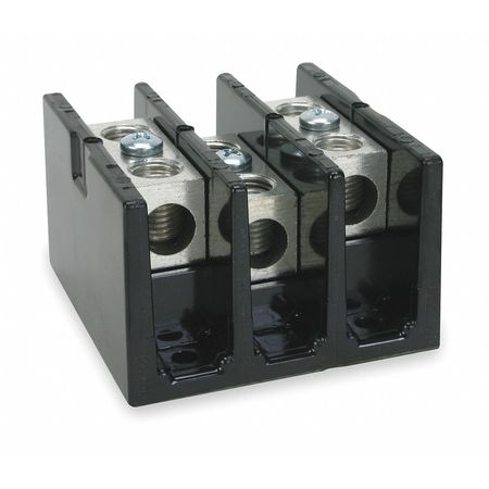 Pwr Dist Block 175A 3P 1P Secndry 600VAC by USA Square D Electrical Wire Power Distribution Blocks