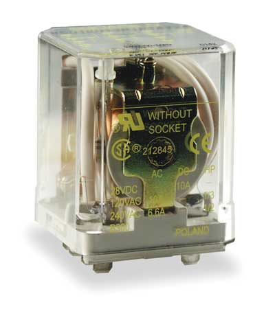 Relay 11Pin 3PDT 10A 100VAC by USA Square D Electrical Specialty Relays