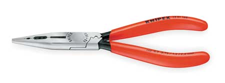 """Knipex Long Nose Plier 6 1/4"""" L Serrated"""