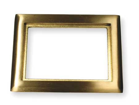 Floor Box Carpet Flange 2 Gang Brass by USA Hubbell Kellems Electrical Floor Boxes & Covers