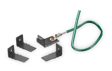 Universal Cover Mounting Clips by USA Hubbell Kellems Electrical Floor Boxes & Covers