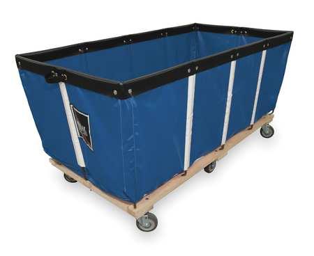 "Royal Basket Extractor Truck 60"" Blue Vinyl"