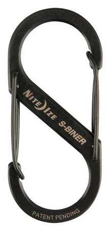 Nite Ize Double Gated Carabiner 2-5/8 In. Black