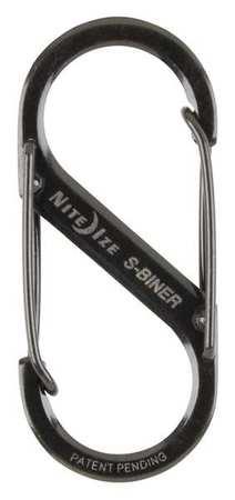 Nite Ize Double Gated Carabiner 2 In. Black