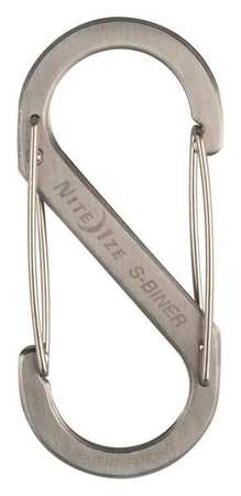 Nite Ize Double Gated Carabiner 4-3/8 In. Silver