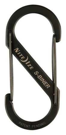 Nite Ize Double Gated Carabiner 4-3/8 In. Black