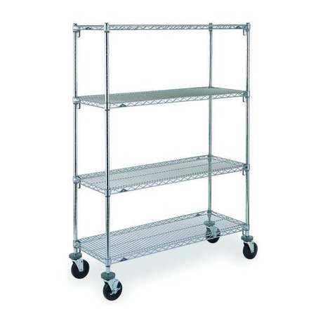 Metro Adjustable Shelf Wire Cart 18 In. W