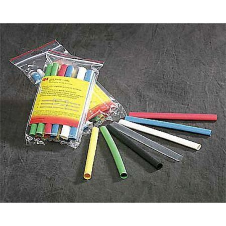 Shrink Tubing 0.063in ID Black 4ft PK250 by USA 3M Electric Cable Shrink Tubing
