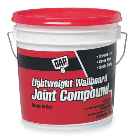 DAP - Wallboard Joint Compound, 1gal, Pail, White