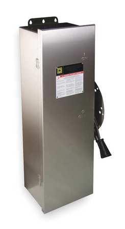30 Amp 240vac/dc Single Throw Safety Switch 2p