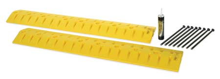Value Brand Cable Protector Drop Over 2 Channel 9ft.