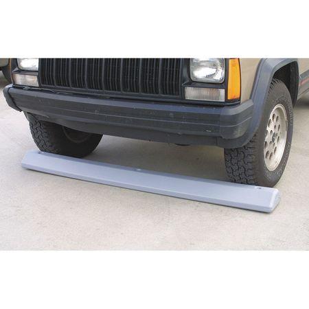 Value Brand Parking Curb 72 In Gray Polyethylene