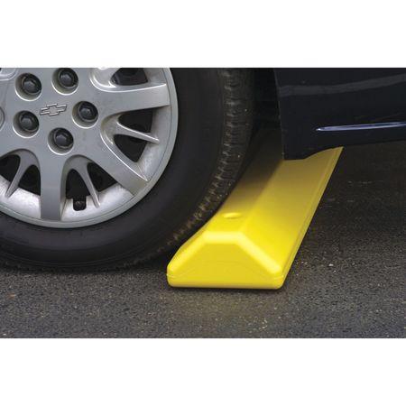 Value Brand Parking Curb 72 In Blue Polyethylene
