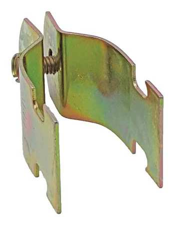 Channel Pipe Clamp 1 In Gold PK10 by USA Value Brand Electrical Strut Channel Accessories
