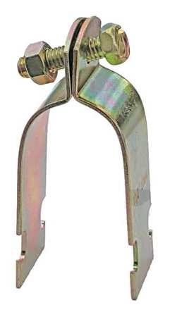 Channel OD Tubing Strap 2 1/8 In Gold by USA Value Brand Electrical Strut Channel Accessories