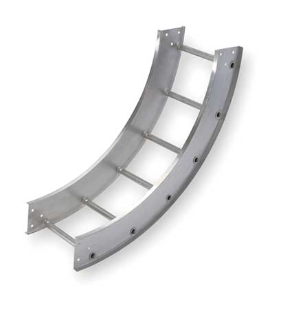 Vertical Elbow 90 Deg 12 In Width by USA Cope Wireways & Cable Trays