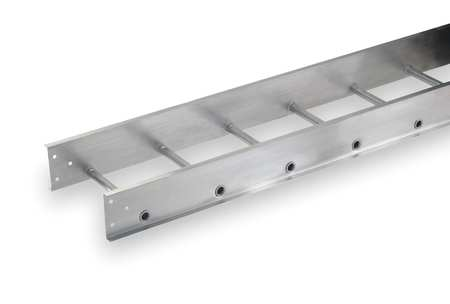 Ladder Tray 12 Ft L x 12 In W 75 lb Cap by USA Cope Wireways & Cable Trays