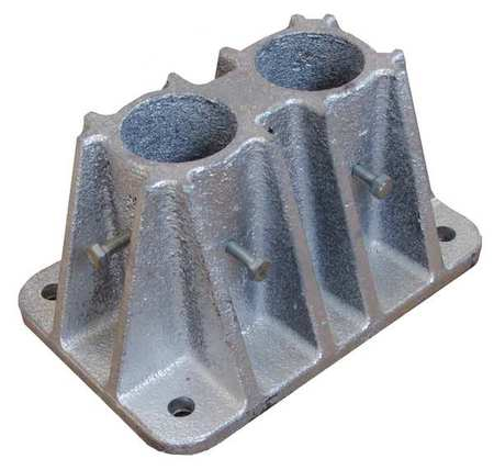 Value Brand Socket Mounting Base Double L 7-1/2 In