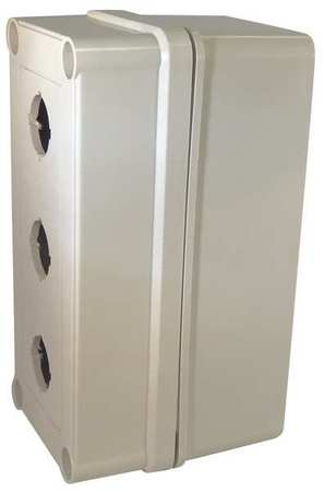 Pushbutton Enclosure 22mm 6.38 in. H by USA GE Electrical Pushbutton Enclosures & Accessories
