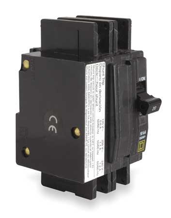 2P Shunt Trip Circuit Breaker 60A 120/240VAC by USA Square D Circuit Breakers
