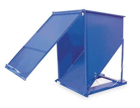 Vestil Hopper Heavy Duty Chute 3 Cubic Yards