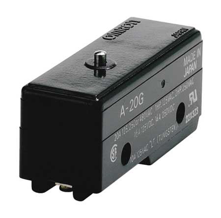 Snap Switch 20A SPDT Pin Plunger Model A 20G by USA Omron Electrical Enclosed Snap Action Switches