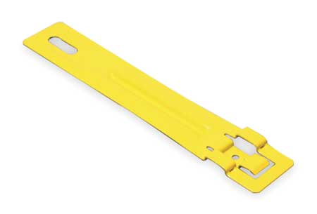 Drop Wire Clip Steel Yellow Paint by USA Caddy Electrical Conduit Clamps & Hangers