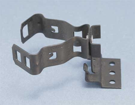 Conduit Clip Spring Steel Model 350812M by USA Caddy Electrical Conduit Clamps & Hangers