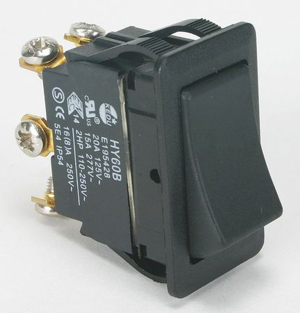 Rocker Switch DPDT 6 Connections Model 2LNF9 by USA Power First Electrical Toggle Switches