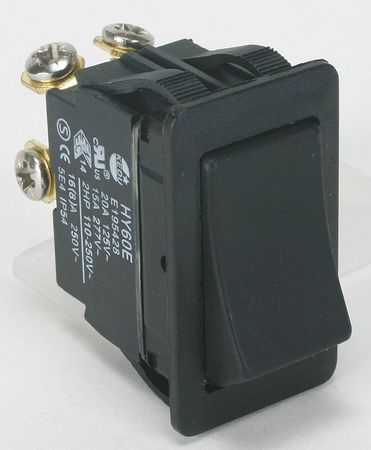 Rocker Switch DPST 4 Connections Model 2LNF3 by USA Power First Electrical Toggle Switches