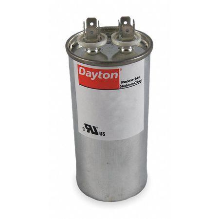 Run Capacitor 50 MFD 440V Round by USA Dayton Motor Run Capacitors
