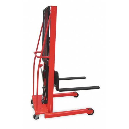 Dayton Fixed Bse Hyd Stacker 1000 lb 56 In Lift