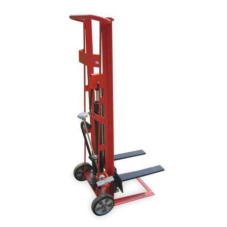 Dayton Fixed Bse Hyd Stacker 750 lb 54 In Lift