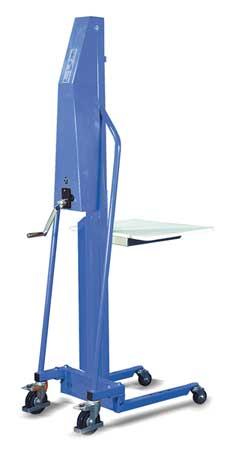 Dayton Pltfrm Lift 440 lb. Cap.76-7/8 In H