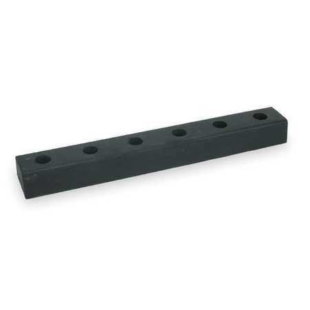 Value Brand Dock Bumper 30x3x4-1/2 In. Rubber PK2
