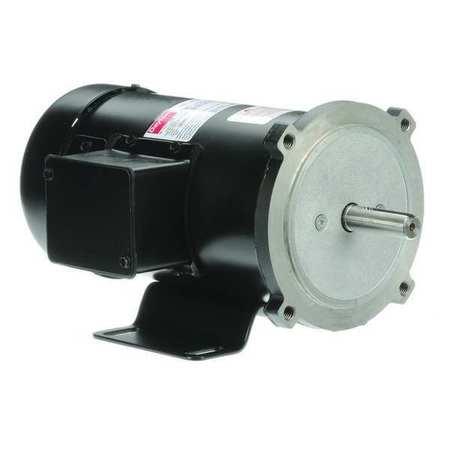 DC Motor PM TEFC 1/2 HP 1725 rpm 90VDC by USA Dayton DC Permanent Magnet Motors