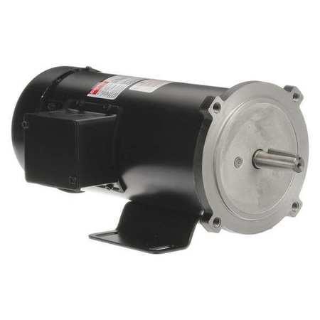 DC Motor PM TEFC 3/4 HP 1750 rpm 90VDC by USA Dayton DC Permanent Magnet Motors
