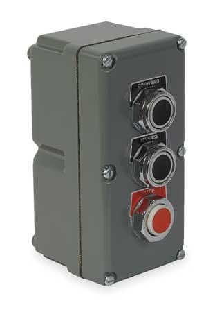 Push Button Control Station 3NO/3NC 30mm Model 9001KYK31 by USA Schneider Electrical Push Button Control Stations