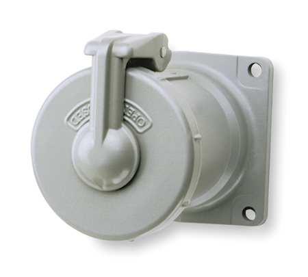 Pin & Sleev Receptacl 100A 4P 3W NEMA 4X by USA Hubbell Killark Electrical Pin & Sleeve Receptacles