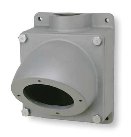 "Back Box 200A 2"" Hub Straight Metallic by USA Hubbell Killark Electrical Pin & Sleeve Receptacles"