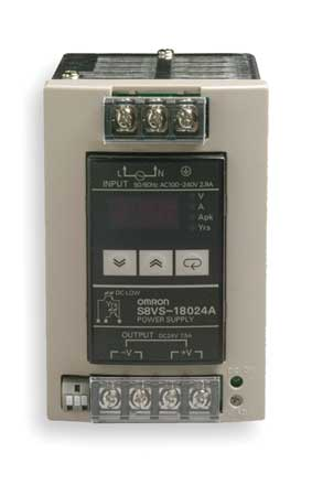 DC Power Supply 24VDC 7.5A 50/60Hz by USA Omron Electrical AC DC Power Supplies