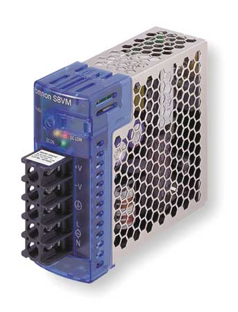 DC Power Supply 12VDC 2.5A 50/60Hz Model S8VM 03012CD by USA Omron Electrical AC DC Power Supplies