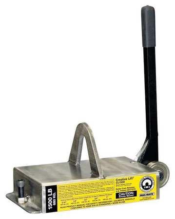 Mag-Mate Lifting Magnet 2200 lb Cap 15 In OAL