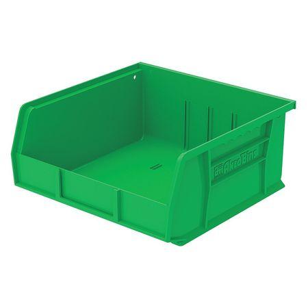 Hang/stack Bin,10-7/8 X 11 X 5, Green