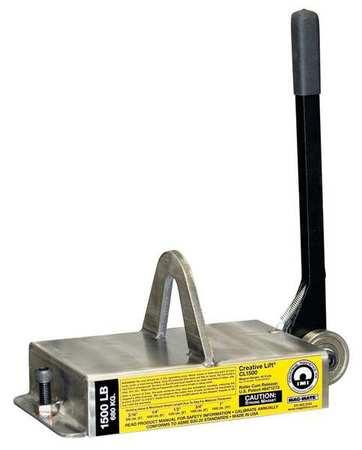 Mag-Mate Lifting Magnet 3000 lb Cap 19-1/4 In OAL